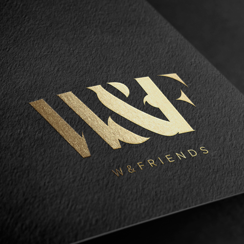 Elegant logo for fashion label for men