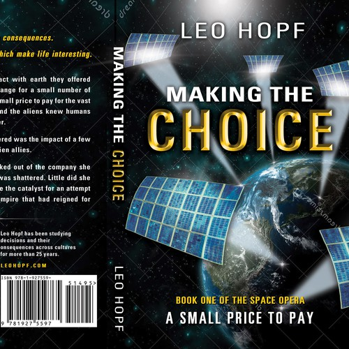Making the Choice Book Cover - Finalist