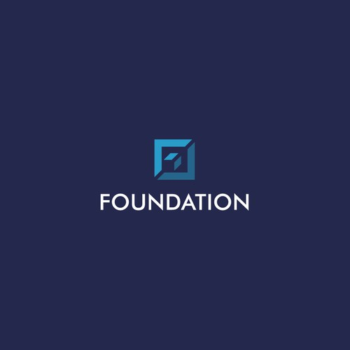 Bold logo concept for Foundation