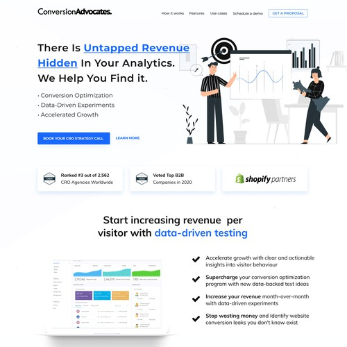 Web Design for Data Analysis and Digital Experiments. Company