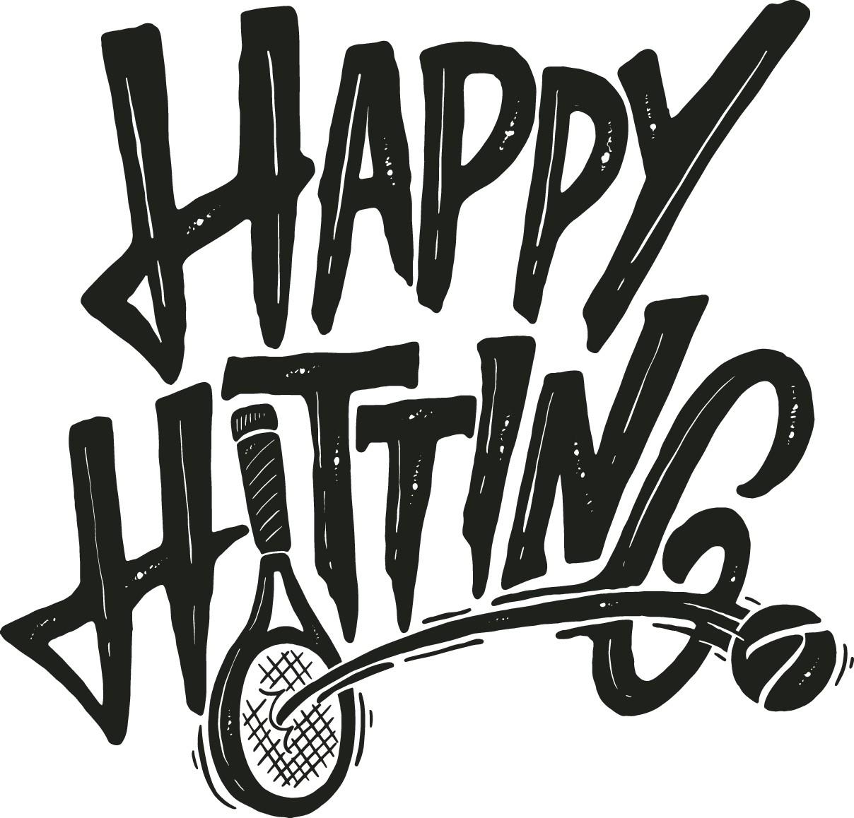 Happy hitting