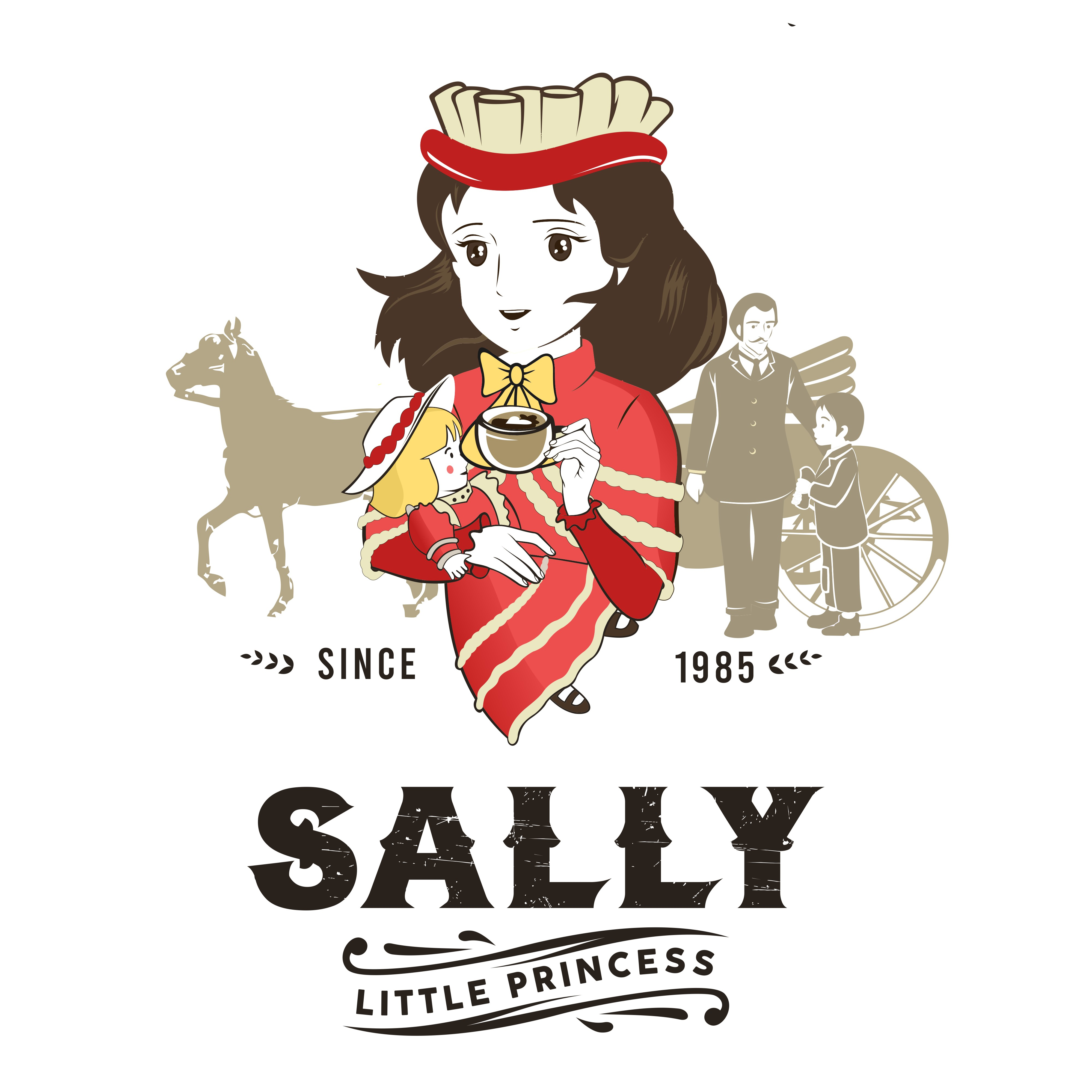 Sally's personal coffee shop