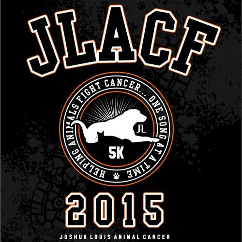 Animal Cancer Fundraiser T-Shirt for 5K!