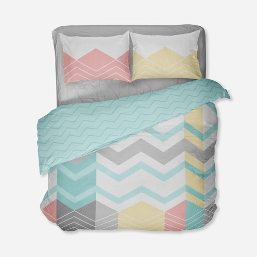 Design for duvet, sheets and pillow