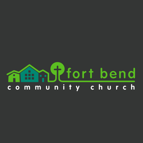 Simple, clean, and modern logo for a church