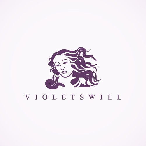 Logo for Violetswill holy grail skincare
