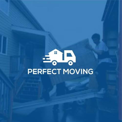 Moving company logo