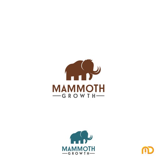 Animal concept logo for Mammoth Growth