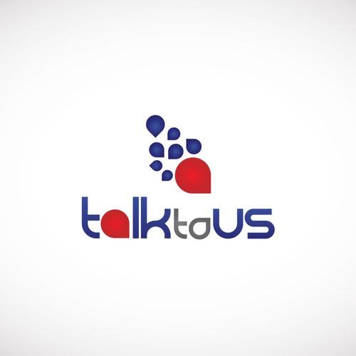 Bold logo concept for a political campaign