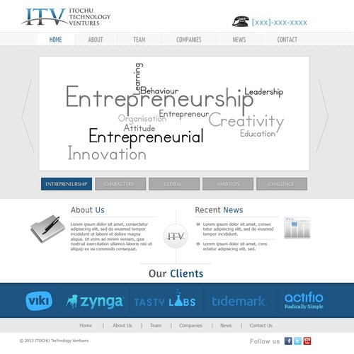 Guaranteed!-New website design wanted for venture capital firm