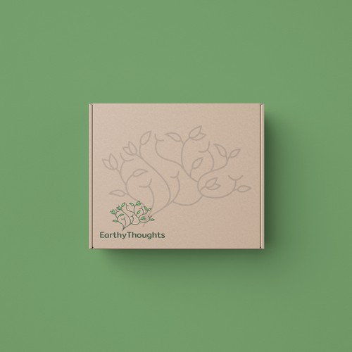 logo concept for a nature based packaging
