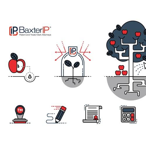 Baxter IP Illustration