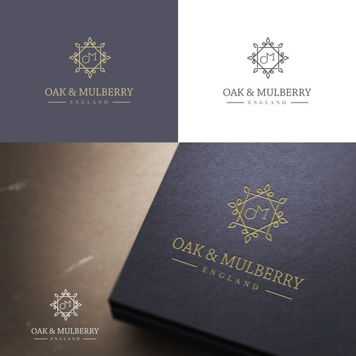 Design a logo for a fine wood working company Oak & Mulberry
