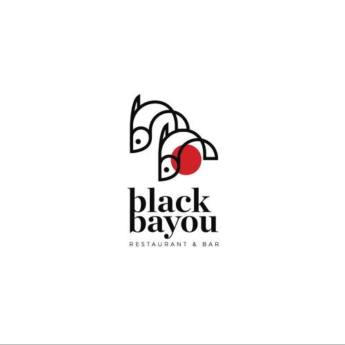 logo concept for a viet-cajun restaurant