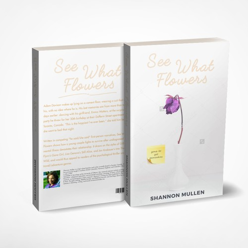 See What Flowers Book Concept