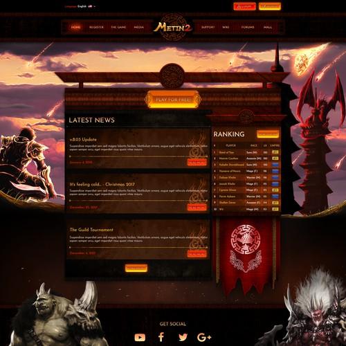 Metin 2 Website