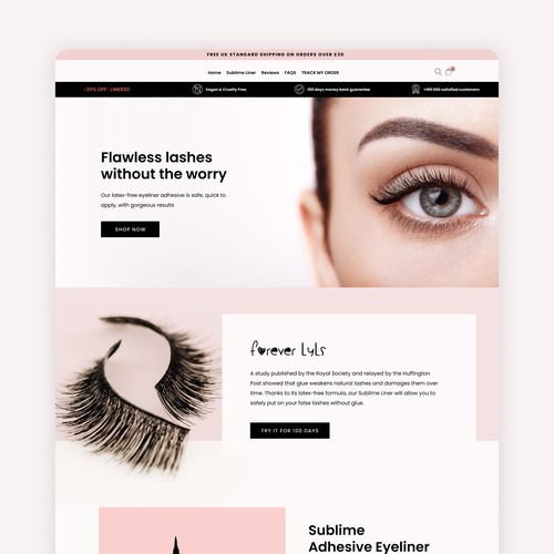 Beauty Products Ecommerce Website