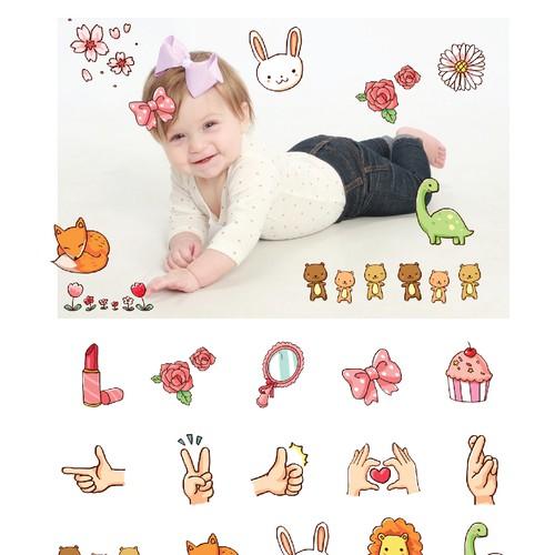 photo collage app illustrations