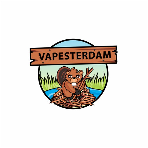 Create the next logo for Vapesterdam