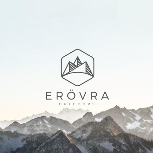logo concept for an outdoor company