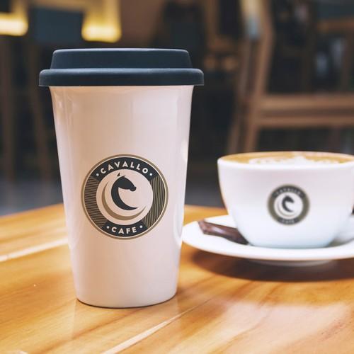 Logo per un cafe