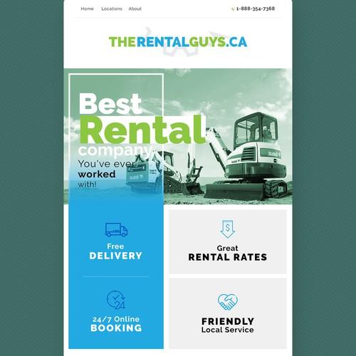 Rental Guys Email Newsletter
