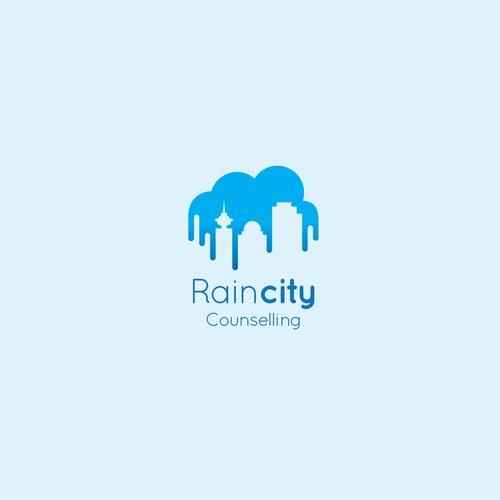Rain city logo