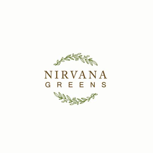 Nirvana Greens logo