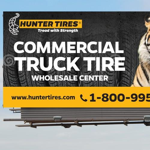 Billboard Hunter Tires