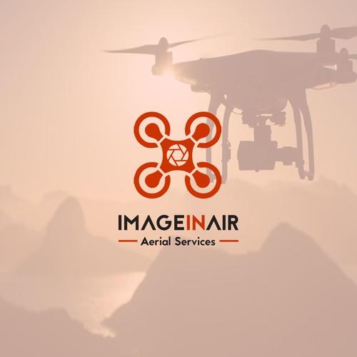 Conceito para Logotipo Aerial Services