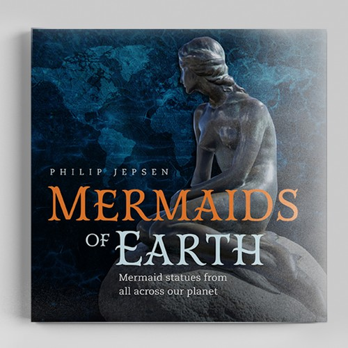 Coffee Table Book Celebrating Mermaid Statues