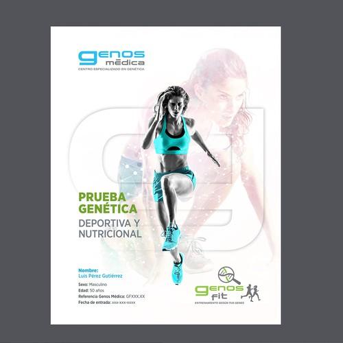 Reporte de resultado de Prueba genética de deporte - GenosFit