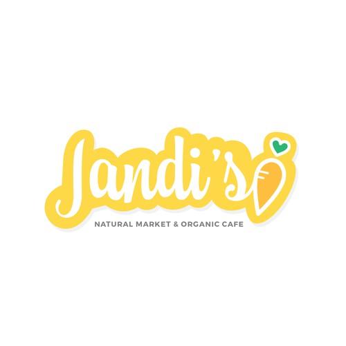 Market & Cafe Logo Concept