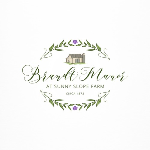 logo design for wedding venue