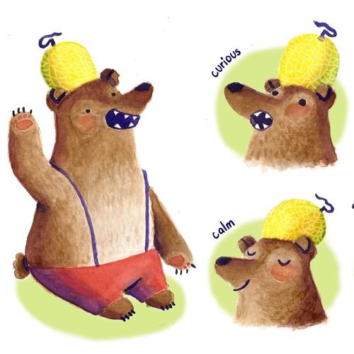 Mr Melon Bear