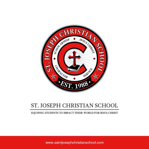 School crest for St. Joseph Christian School