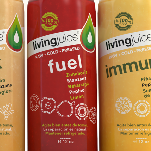 Natural Juice Label