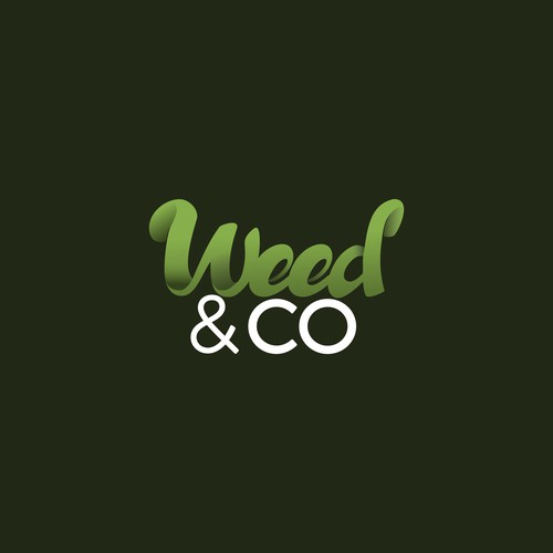 Handlettering Logo for pharmaceutical Weed Company