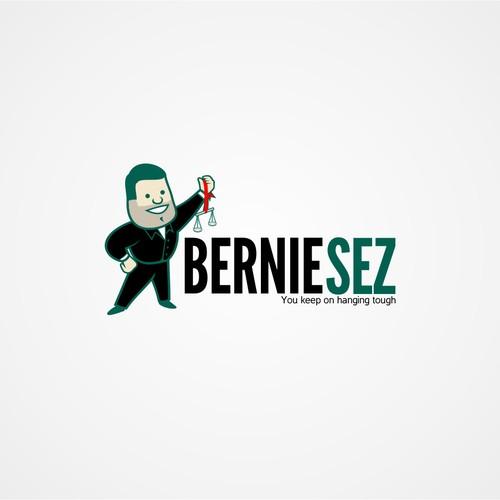 logo for Bernie Sez