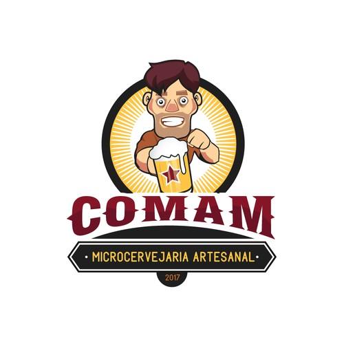 Logo concept for COMAM