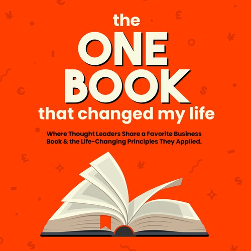 'One Book that changed my life' podcast cover