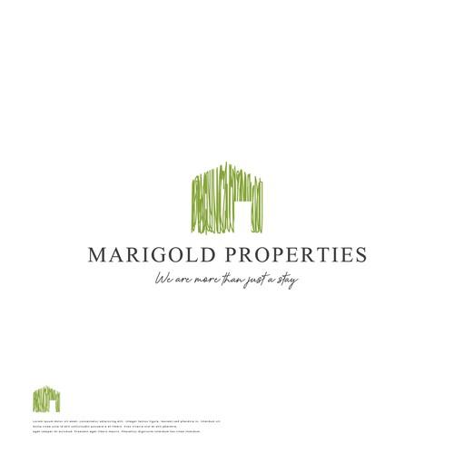 Winning Logo COncept for Marigold Properties