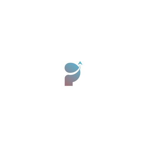 """P"" initial logo concept"