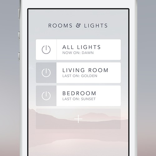 Lights Remote Controller App Concept