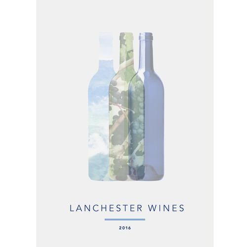 Brochure cover for Lanchester Wines