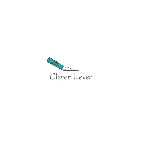 Illustrative logo concept for Clever Lever