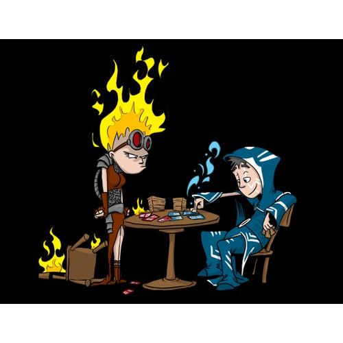 Magic cartoon