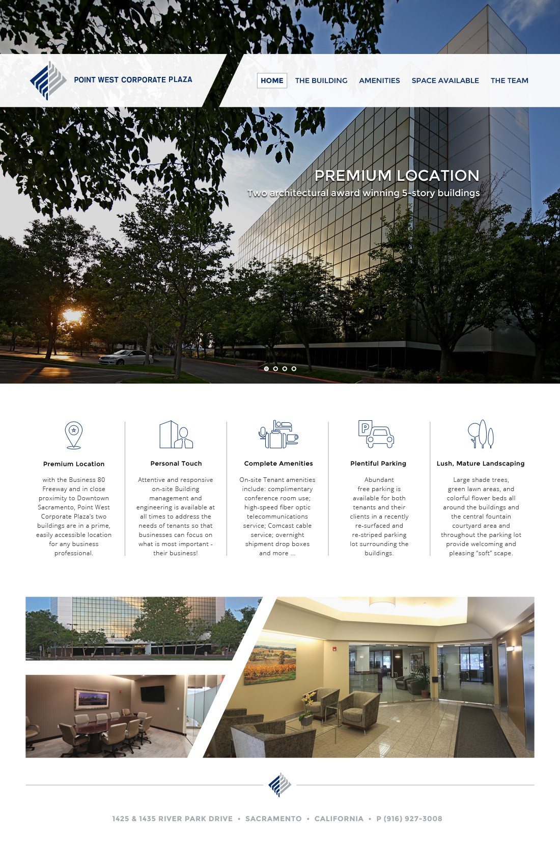 With class and style, showcase office leasing opportunity.