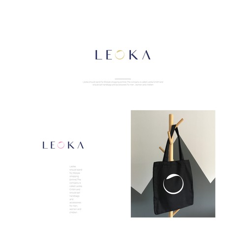 LEOKA Fashion Brand Logo Design