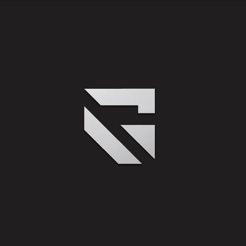 Geometric minimalist lettermark